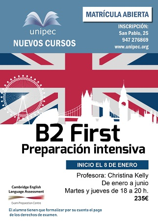 B2 First. Preparación Intensiva