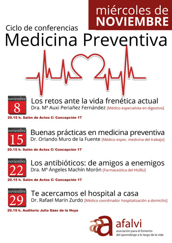Ciclo de conferencias Medicina Preventiva